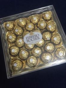 NEW FERRERO ROCHER CHOCOLATE PACK OF 24 - 96 PIECES GIFT BOX