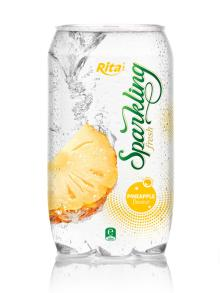 Sparkling Pineapple flavor Juice 350ml PET Can