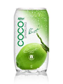 350ml PET Can Sparking Coconut Water Kiwi Flavor
