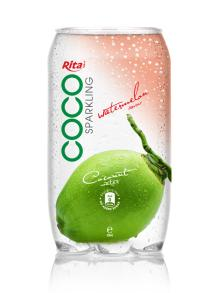 Copy of 350ml PET Can Sparking Coconut Water Watermelon Flavor