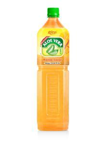 Mango Flavor Aloe Vera Drinks 1500ml PET bottle