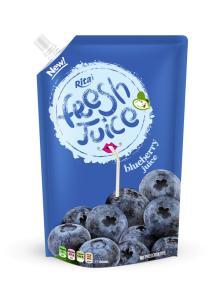 Spout blueberry juice pouch bag 1000ml