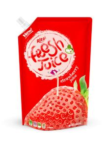 1000ml bag packaging spout fruit juice drinks strawberry flavors