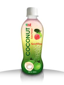350ml Guava Sparkling Coconut water