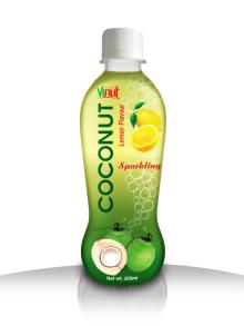 350ml Lemon Sparkling Coconut water