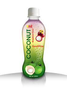 350ml Mangosteen Sparkling Coconut water