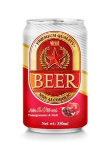 330ml Pomegranate Non Alcoholic Beer