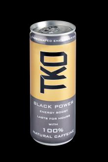 TKO Black Power Energy Drink