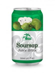 330ml Soursop Juice Drink