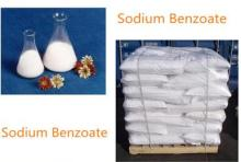Natural food additives sodium benzoate
