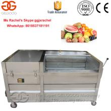 Hot Selling Brush Type Fruit Cleaning And Peeling Machine