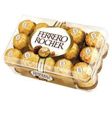 Ferrero Rocher, Kinder Bueno, Duplo, Nutella, Kinder surprise