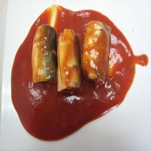 Tomato Sauce Mackerel in can
