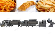 20kgs/h Semi-automatic Potato Chips Production Line