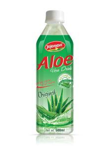 Original Aloe vera juice drink with pulp PET Bottle