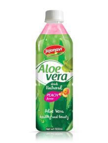Hight Quality wholesale Fruit juice Vietnam Aloe vera water Peach Flavour