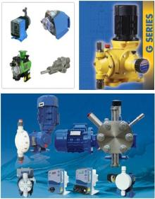 Dosing pumps for food