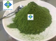 Cassava leave powder