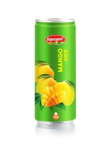Fruit Juice Export - Mango Juice - Natural Fruit Juice in Aluminium can 250ml