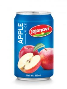 Apple Juice Aluminium Can - Natural Fruit Juice Export