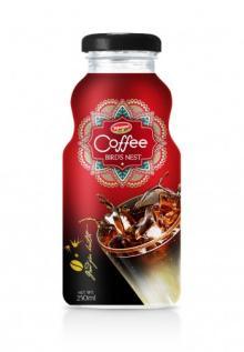 Glass Bottle Vietnam Coffee With Bird's Nest