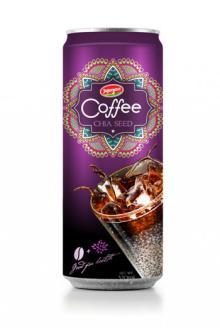 Aluminium Can Vietnam Coffee - Fruit Juice Chia Seed