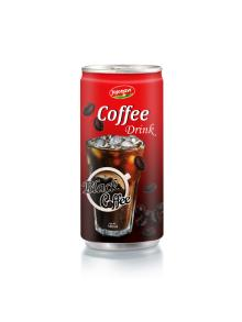 Black Cofee - Ice Coffee Drink Suppliers Vietnam In Aluminium Can