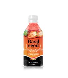 Fruit Juice Basil Seed Drink Strawberry Flavour