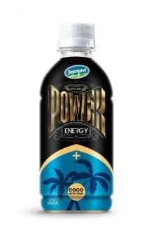 PET Bottle Energy Drink Power Energy Drink With Coconut Pulp