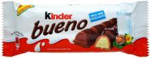 Kinder Chocolate T4 T8, Kinder Bueno 43g, Kinder Bueno Mini 108g