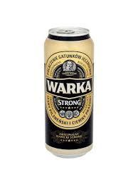 WARKA STRONG BEER