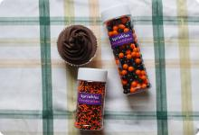 Halloween Sprinkles / Edible Cake Decorations