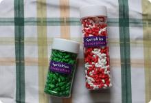 Christmas Sprinkles / Edible Cake Decorations