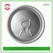 Top sale 307#83.3mm RPT easy open end/lid for beverage can