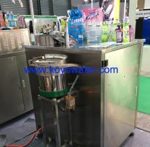 Spouted juice pouch filling capping machine
