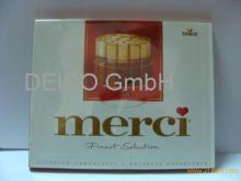 Merci chocolate 250g available