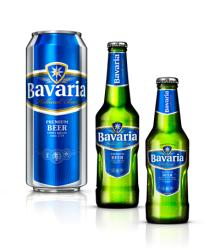 Bavaria beer and non alcoholic drinks cans and bottles 250ml and 330ml