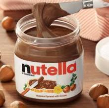 Ferrero Rocher, Nutella, Mars , Twix and Bounty