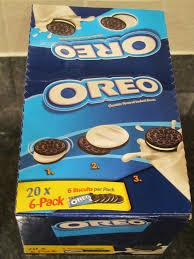 Oreo Chocolate Milk Sandwich Cookies Box 264gr