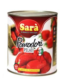 Whole Peeled Tomatoes made in Italy