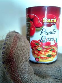 Polpa fine ready pizza sauce made in italy