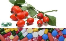 Nutritional Supplement ( Tablets ) Vitamin C Rosehip