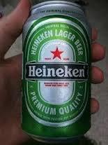 Heineken Beer in Can Ready for Exporttion