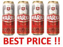Warka beer