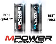 MPower energy drink 0,25L snd 1L BEST PRICE!!!