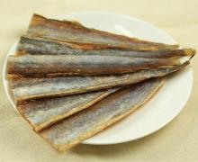 Dried blue whiting fish