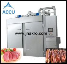 Smoked meat bake machine