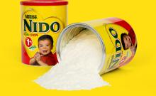 Nido cream milk powder