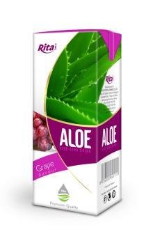 200ml Grape Flavour Aloe Vera