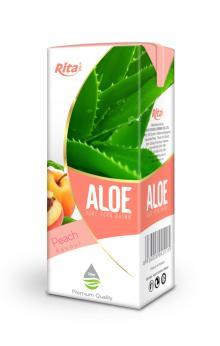 200ml Peach Flavour Aloe Vera